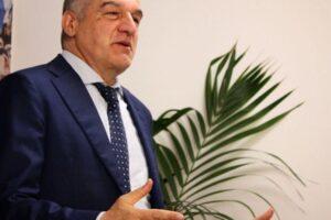 Il candidato sindaco per il centrodestra Enrico Michetti