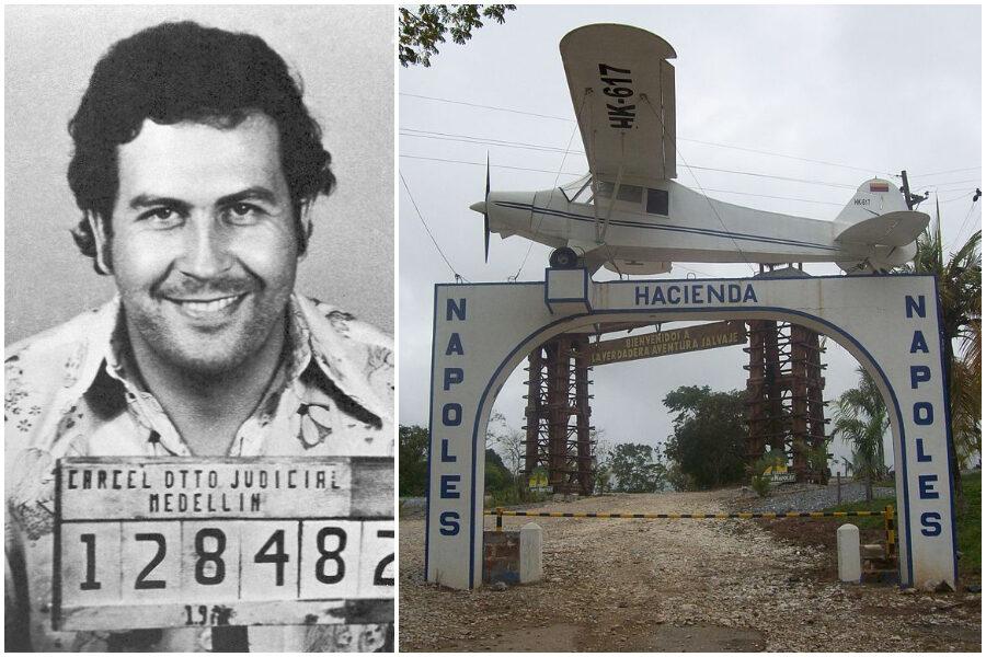 """Pablo Escobar e il legame con Napoli: perché la sua tenuta si chiamava """"Hacienda los Nápoles"""""""