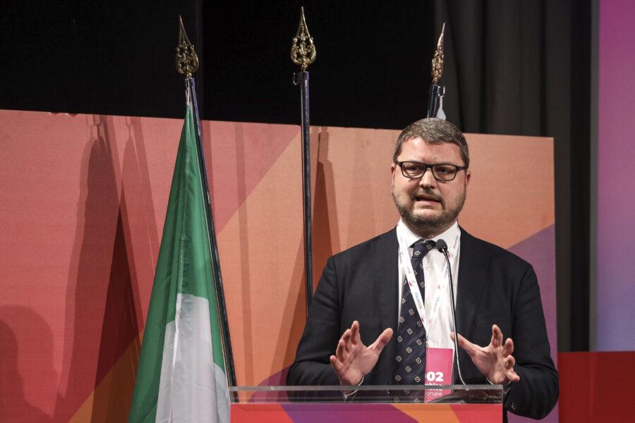Gennaro Migliore alla guida  dell'Assemblea del Mediterraneo