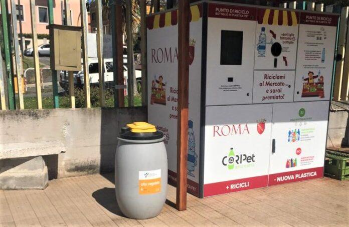 """Ama, raccolti 40mila litri di olii usati in tre mesi. Zaghis: """"Romani sempre più green"""""""