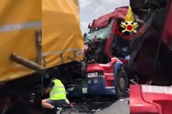 Incidente mortale sull'A13, camionista perde la vita in maxi tamponamento: altra vittima anche nel Piacentino