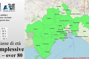Vaccini a Napoli, la mappa delle adesioni quartiere per quartiere: area nord ed est sotto il 40%