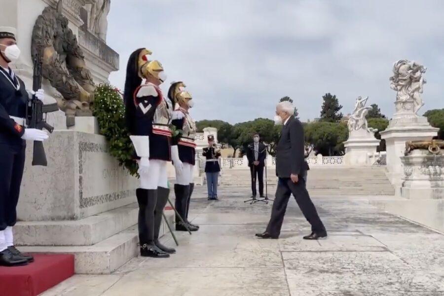 """Festa della Repubblica, il messaggio di Mattarella: """"Grati a chi ha sacrificato propria vita per l'Italia"""""""