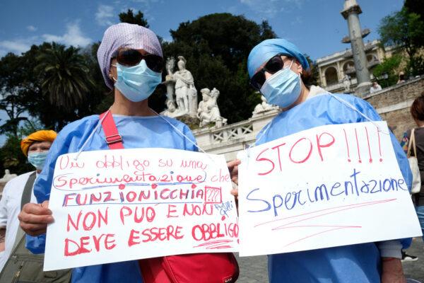 I medici no vax rompono il patto di solidarietà
