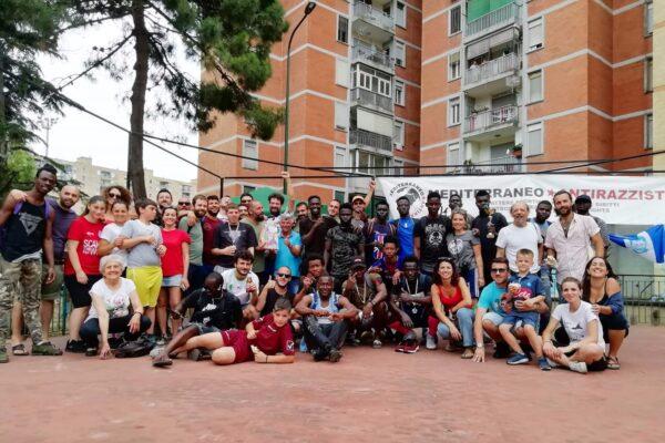 """Da Scampia parte 'Mediterraneo antirazzista': """"lo sport come strumento per abbattere frontiere e costruire diritti"""""""