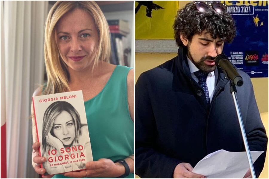 Il libro di Giorgia Meloni in regalo alle scuole di Verbania, nuova polemica sulla leader di Fratelli d'Italia