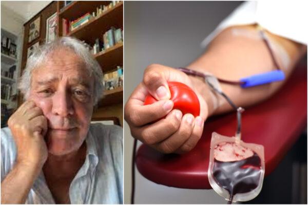 La bufala di Enrico Montesano sul sangue coagulato donato dai vaccinati: l'attore smentito dall'AVIS
