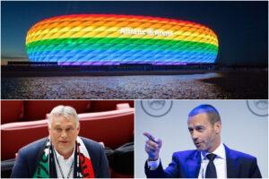 La UEFA si piega a Viktor Orban: niente stadio 'arcobaleno' per Germania-Ungheria