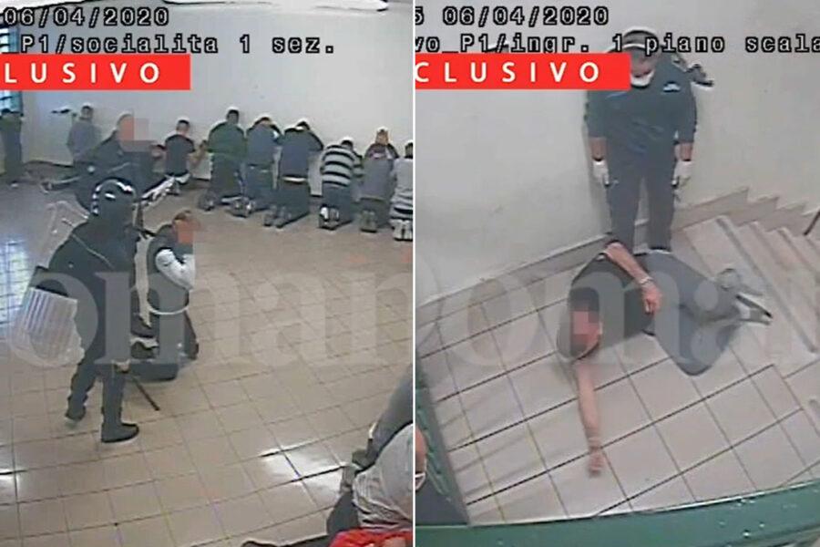 """Violenze in carcere, a S.M. Capua Vetere va in scena il """"metodo Poggioreale"""""""