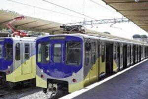 I treni della Roma-Lido