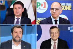 """""""Draghi è di destra"""", Pd e M5S fanno opposizione in maggioranza e regalano il premier a Salvini"""