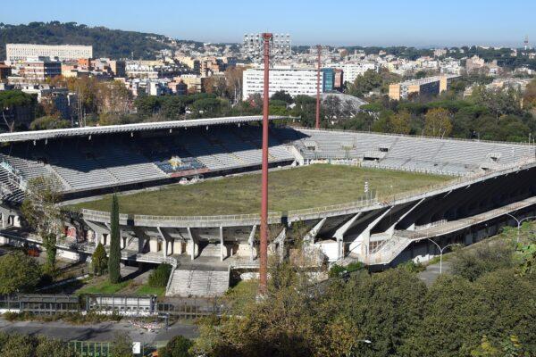 Lo stadio Flaminio, simbolo della decadenza dello sport a Roma