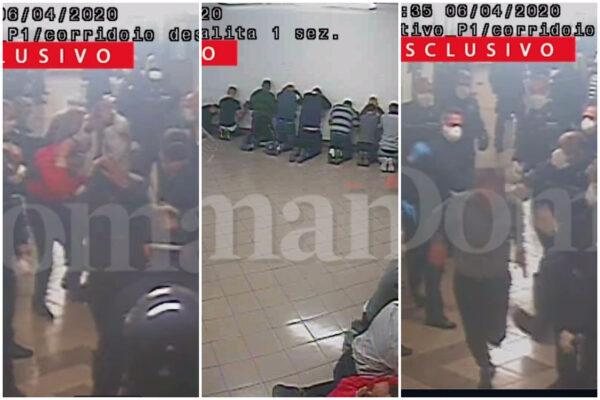 Il video delle torture in carcere, il corridoio dell'orrore: detenuti costretti a sfilare inginocchiati e pestati a sangue