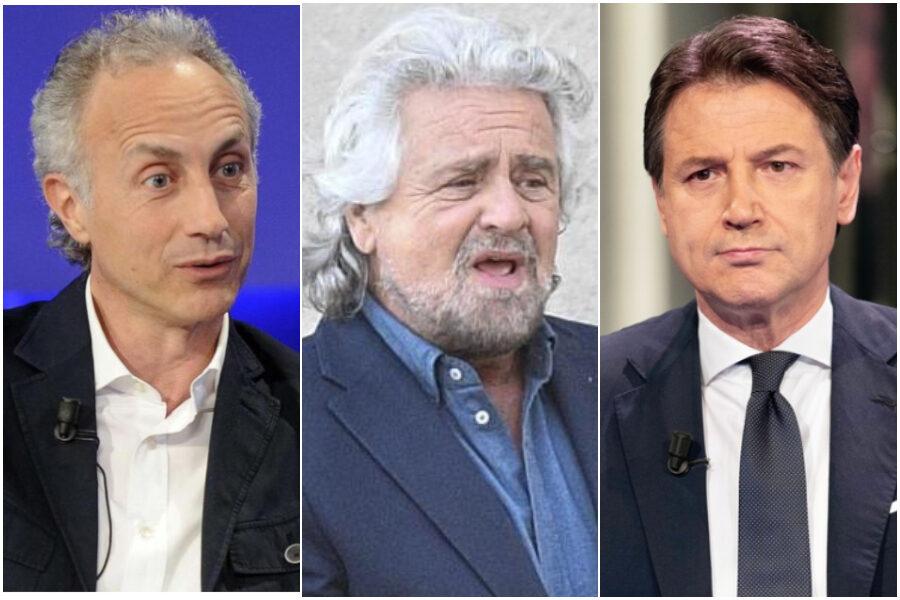 Grillo si accorge che Conte non esiste, ora chi lo dice a Travaglio?