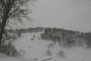 Foto LaPresse 19-01-2017 Farindola (PE) Italia Cronaca Slavina Rigopiano, all'opera il soccorso alpino  nella foto: il soccorso alpino all'opera  DISTRIBUTION FREE OF CHARGE – NOT FOR SALE