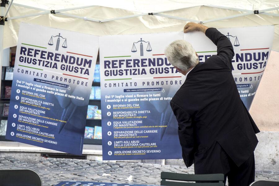 La firma per il referendum? Un atto d'amore per la giustizia
