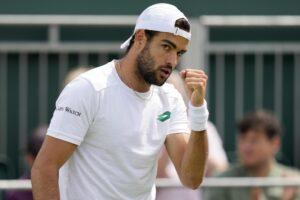 Roma ai quarti di Wimbledon, Berrettini diventa il terzo italiano di sempre a riuscirci