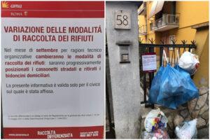"""Raccolta porta a porta flop, a Roma tornano i cassonetti: """"Impossibile farla con i mezzi dell'Ama"""""""