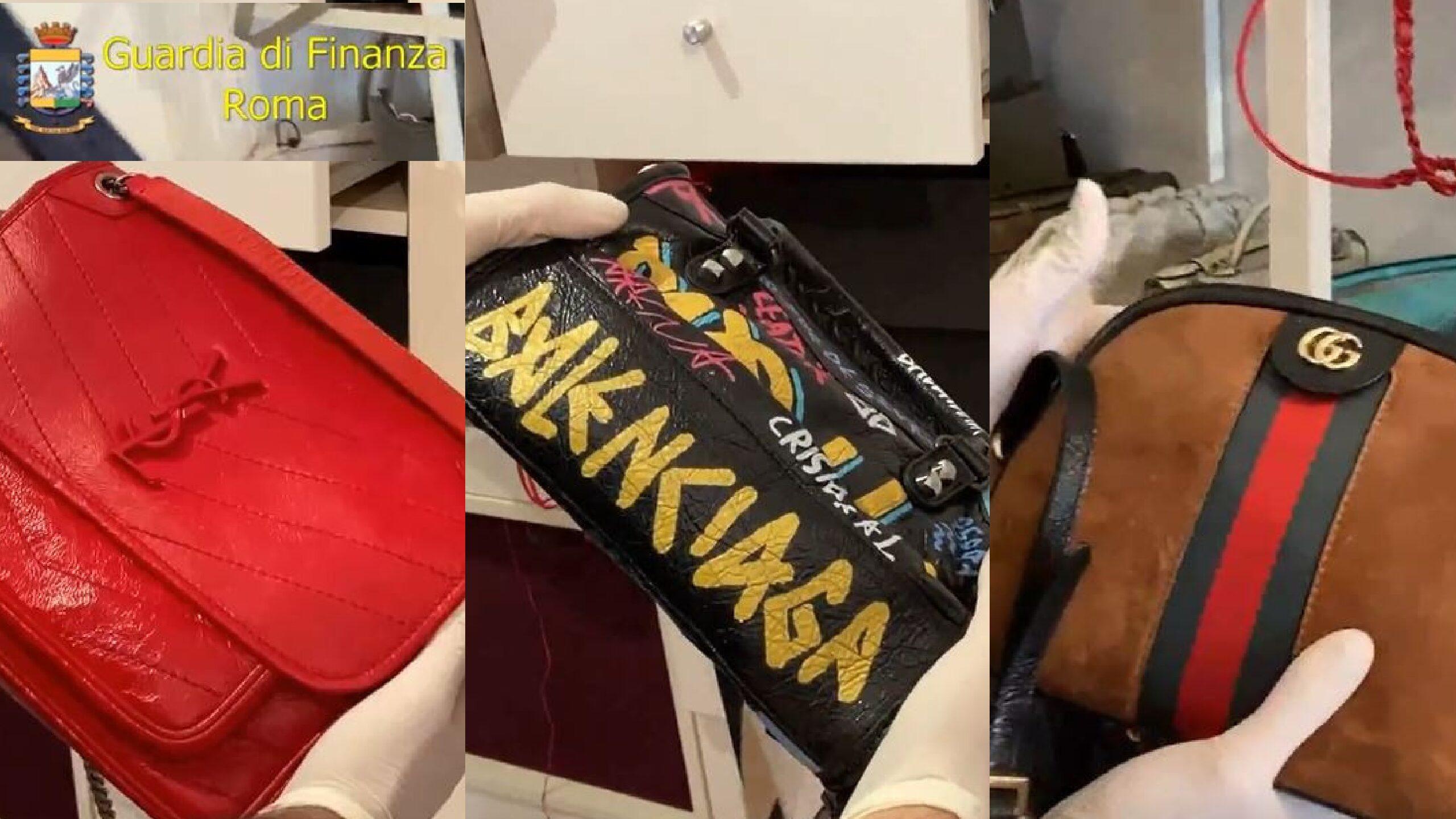 Boutique del falso nella Roma bene con affari da 850mila euro. Tra i clienti vip e nomi dello spettacolo