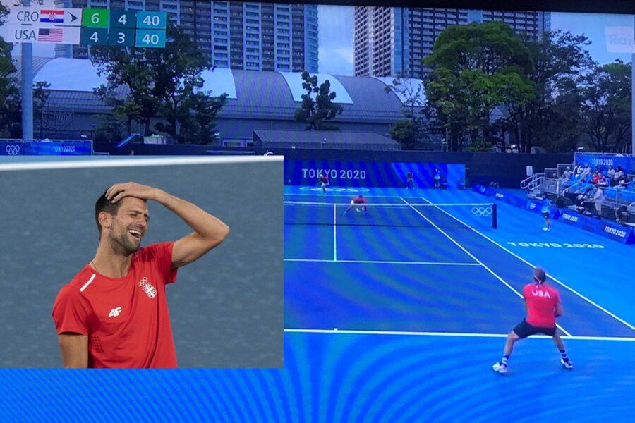 Capolavoro Rai, doppio di tennis con la cronaca di Djokovic-Nishikori: ironia e furia dei telespettatori