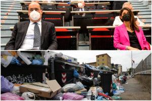 Emergenza rifiuti, nuovo scontro Comune – Regione: Raggi ricorre al Tar contro il commissariamento