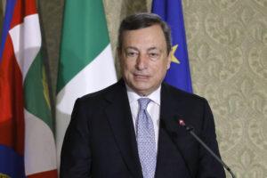 MARIO DRAGHI, PRESIDENTE DEL CONSIGLIO