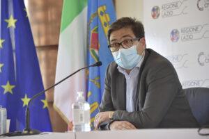 L'assessore alla Sanità della Regione Lazio Alessio D'Amato