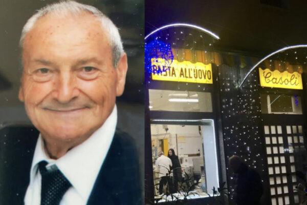 """È morto Giovanni Casoli dell'omonimo pastificio: """"Se ne va un pezzo di storia del nostro quartiere"""""""