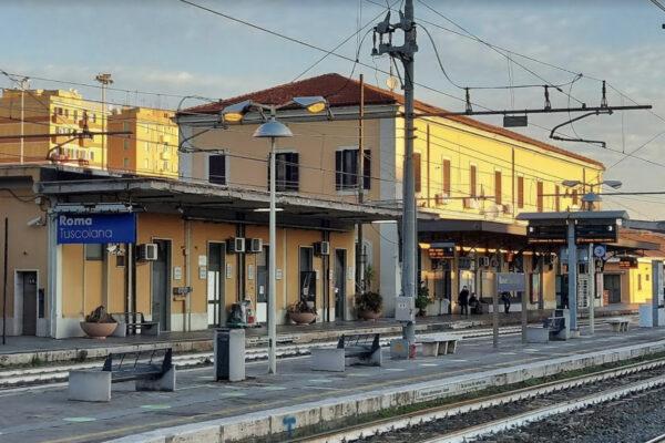 La stazione di Roma Tuscolana