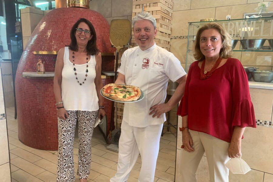 """""""Una Margherita per Alice"""", l'iniziativa solidale della pizzeria Carmnella per i pazienti del Pausilipon e le loro famiglie"""