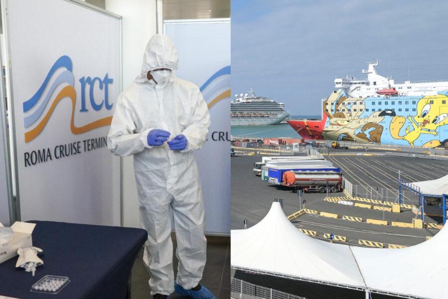 """Vaccini a bordo al porto di Civitavecchia per chi lavora in mare, D'Amato: """"Noi i primi"""""""