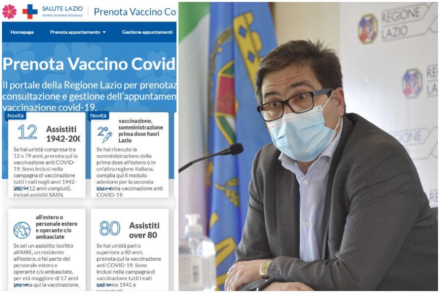 """Vaccini, D'Amato: """"38mila nuove prenotazioni dopo l'appello di Draghi"""", e il portale va in tilt"""