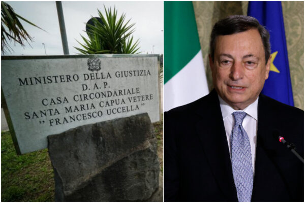 Da Santa Maria Capua Vetere un SOS a Draghi: più educatori e psicologi per un nuovo modello di carcere