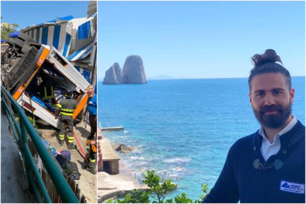"""Tragedia di Capri, il dolore della famiglia: """"Emanuele era un grande lavoratore, vogliamo la verità"""""""