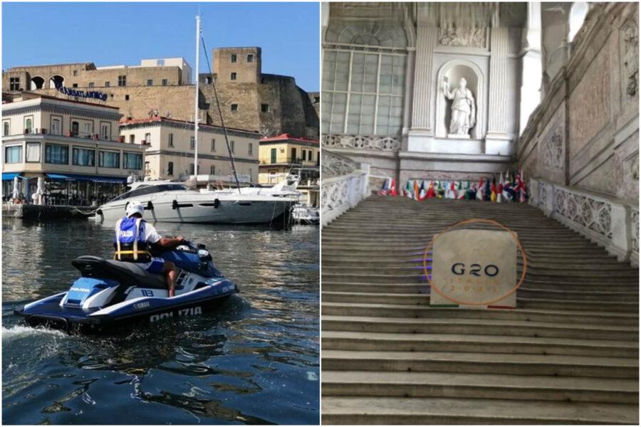 """G20 a Napoli, rifiuti in casa (""""per sicurezza"""") e zona rossa come la Svizzera: le quattro giornate-farsa"""