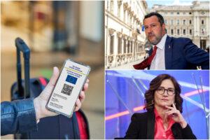 """Green pass 'esteso', apertura di Gelmini: """"Trovare una via italiana"""". Ma Salvini frena"""