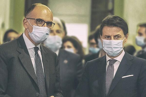Tra Conte e Letta è sfida per la leadership del centrosinistra