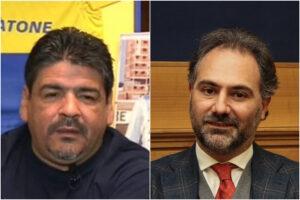 Il fratello di Maradona candidato con Maresca: la mossa calcistica contro lo 'juventino' Manfredi