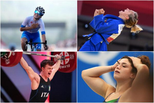 Tokyo 2020, bronzo per gli azzurri nel ciclismo, nel judo e sollevamento pesi: squalificata Pilato nei 100 rana