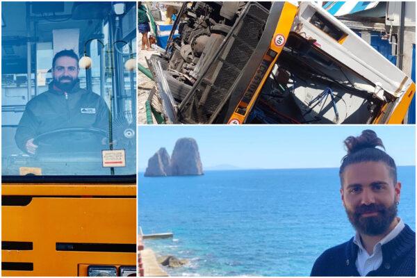 Capri e il rione Sanità piangono Emanuele Melillo, l'autista alla guida dell'autobus precipitato nel vuoto