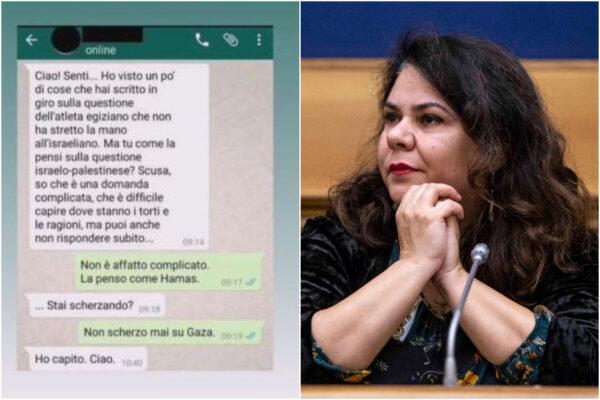 """Michela Murgia la pensa """"come Hamas"""": la scrittrice si schiera con i terroristi omofobi e antisemiti contro Israele"""