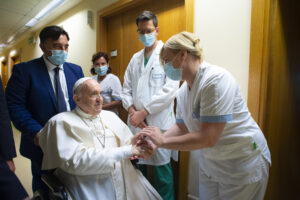 Foto Vatican Media/LaPresse11-07-2021 Roma