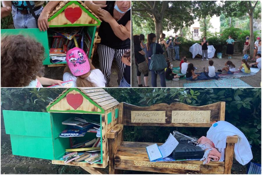 """Al Parco Viviani la casetta con libri gratuiti per i bimbi: """"Non ci resta che leggere…"""""""