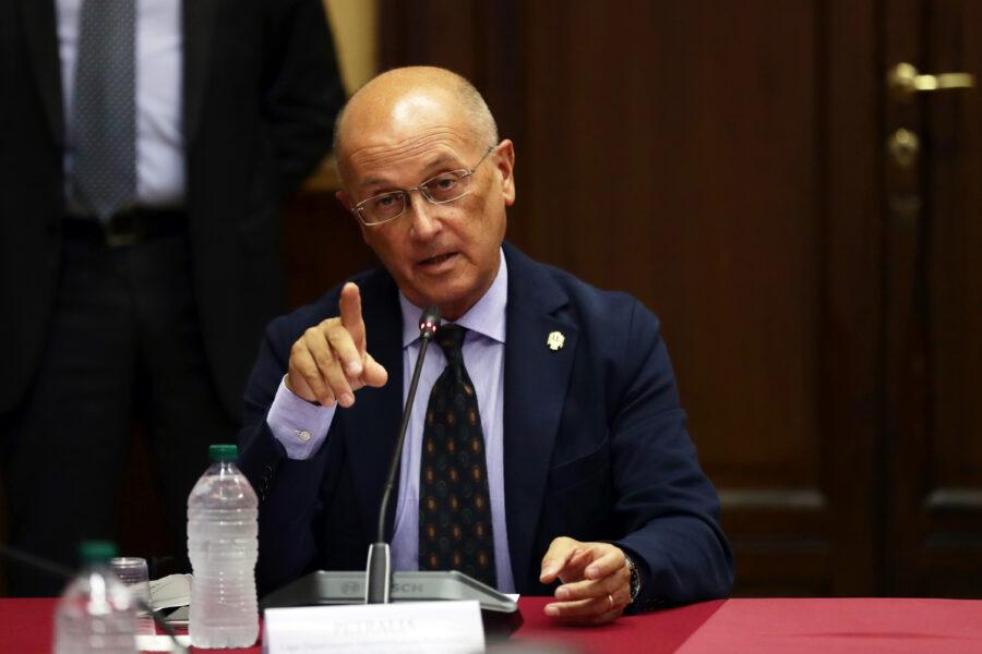 BERNARDO PETRALIA CAPO DIPARTIMENTO AMMINISTRAZIONE PENITENZIARIA