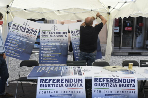 Referendum sulla giustizia, anche i penalisti in campo per raccogliere le firme