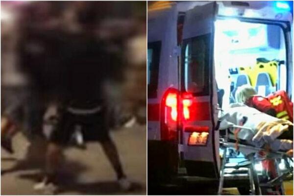 Pestati dal branco fuori al centro commerciale con le mazze: morto un 23enne, grave l'amico