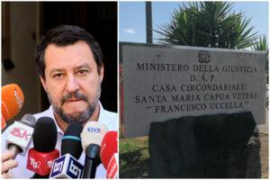 """Salvini non ci sta: """"Mattanza in carcere? Anche quella dei detenuti contro gli agenti"""""""