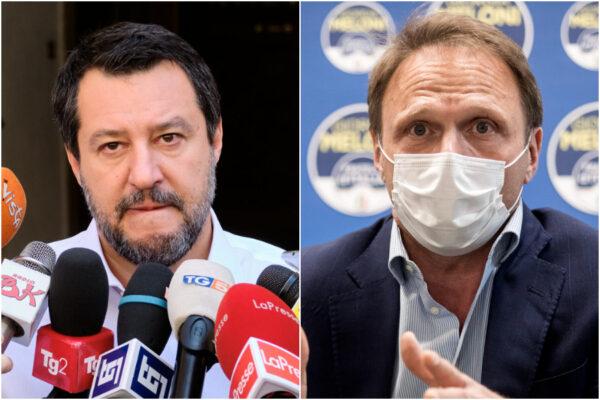 """Salvini e Lollobrigida strizzano l'occhio ai no-vax: dal Green Pass """"cazz.. pazzesca"""" al 'no' al vaccino agli under 40"""