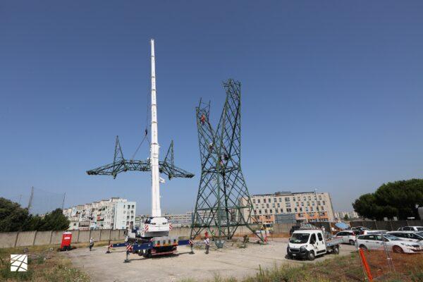 Terna avvia a Napoli la demolizione dei tralicci della linea elettrica Castelluccia – San Sebastiano