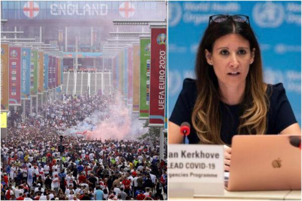 """Italia-Inghilterra, la finale di Wembley """"un devastate contagio in diretta"""": l'atto di accusa dell'Oms"""
